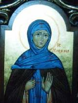 Icon of Saint Macrina the Younger
